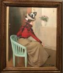 La parisina. Ramón Casas