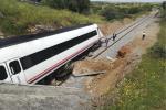 Descarrilamiento en Extremadura