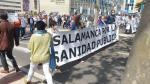Manifestación pro sanidad pública