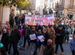Manifestación contra la mina de uranio
