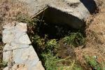 5 Entrada de la regadera a Monte Mario. Prácticamente ya no tiene agua
