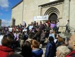 Manifestación feminista en Béjar