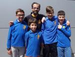 El equipo Bejarano de Ajedrez