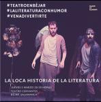 Antonio Velasco en La loca historia de la literatura