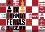 Ajedrez Ferias Béjar 2019