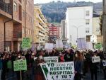 Concentración en defensa del Hospital Virgen del Castañar