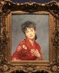 El mantón rojo. G. Boldini