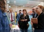 Autoridades en la Feria de bienvenida