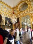 Abarrotados salones del Palacio