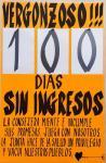 100 días sin ingresos