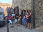 Visitantes del Museo Judio de Béjar