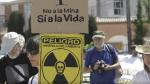 Protesta contra la mina de Retortillo