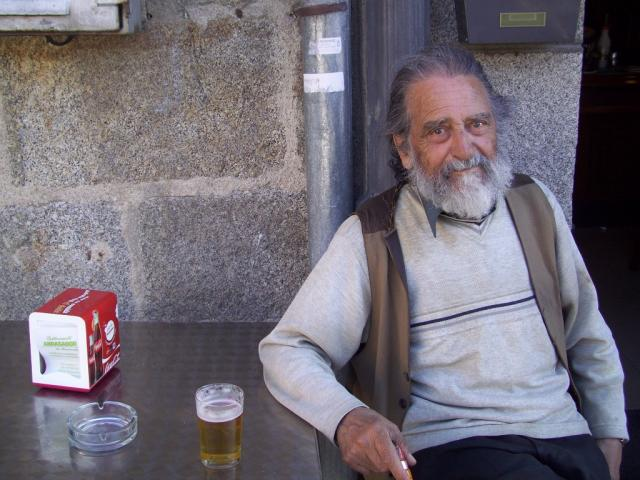 Segundo premio. Concursante 14: Marcelino Domínguez Martín, pseudónimo ALCOLEA. Título: El pintor Arturo Fernández