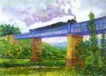 El viaducto, de Darío de Regoyos