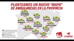 Propuesta de mapa de ambulancias de IU