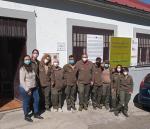 Alumnos del Programa mixto de Formación y Empleo Jardines de Béjar