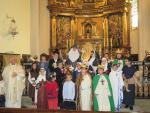 Niños en Santa María la Mayor