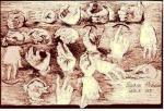 Manos de Goya en su Cuaderno de Piedrahita