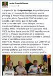 Facebook de Javier Garrido