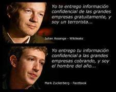 Assange y Mark