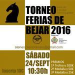 Torneo Ferias 2016 de Ajedrez del CO