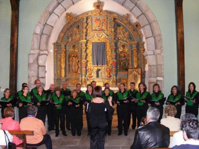 Concierto de la coral de b jar en la iglesia de santiago for Concierto hoy en santiago