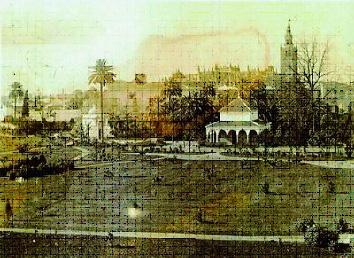Foto 25. Cenador de Carlos V en los jardines de los Reales Alcázares de Sevilla.