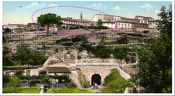 Foto 5.  Postal tomada de fotosantiguasdebejar.blogspot.com